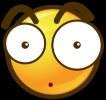 Emoji circle face stone png