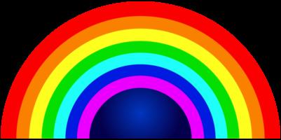 regnbågens halvcirkel