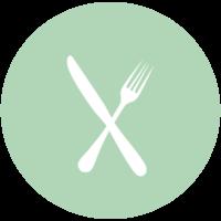 fourchette et couteau png