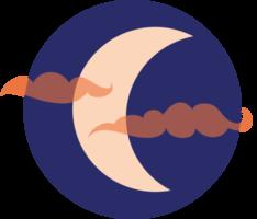 icône de la lune png