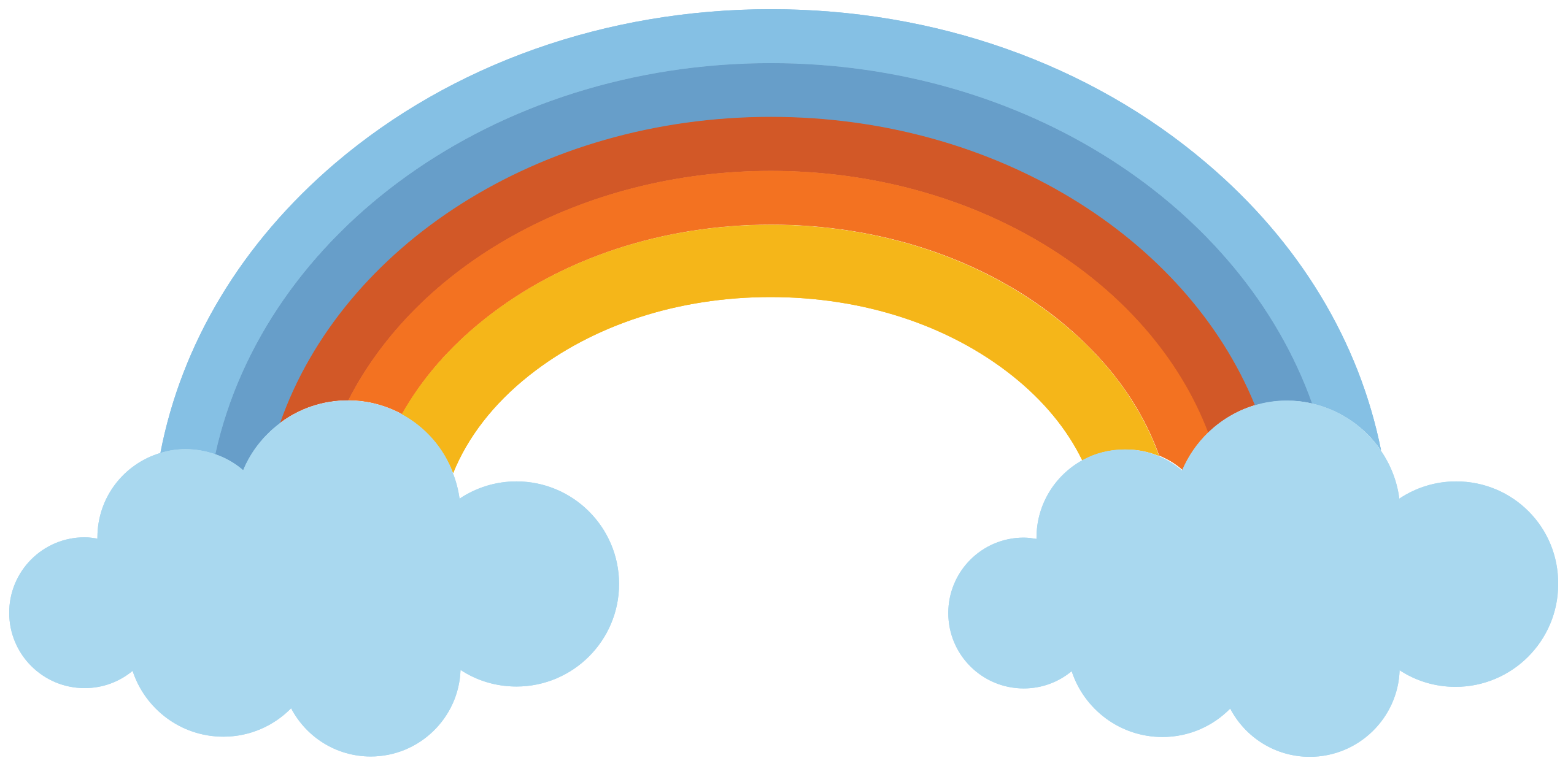 Free Rainbow Png With Transparent Background