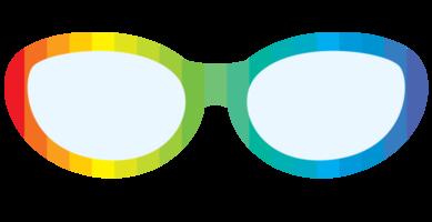 lunettes arc-en-ciel
