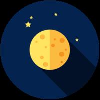 icône de la lune
