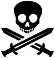 pirata caveira