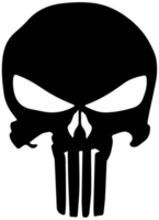 logotipo do crânio