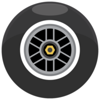 race car wheel