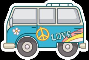 furgoneta de la paz