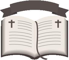 cruz na bíblia sagrada