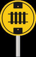 cross railroad sign