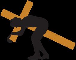 Gesù porta la croce