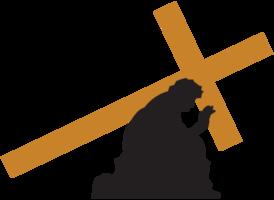 Jesus carregando a cruz
