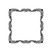 vierkant frame png
