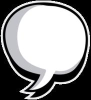 balão de fala png