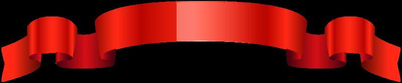 rotes glänzendes Band