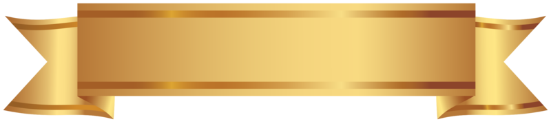 goldenes dekoratives Banner