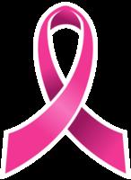 fita rosa de câncer de mama