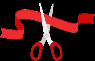 corte de cinta