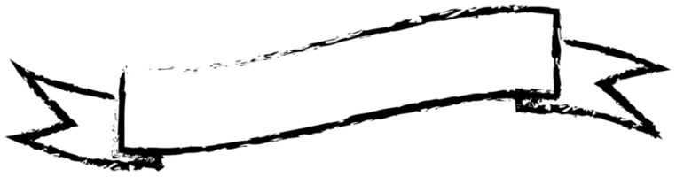 contorno di pennello banner nastro png