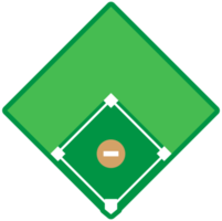 diamante del baseball