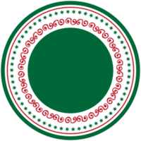 kerst label decoratie