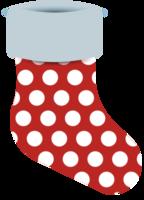 decoración de medias de navidad