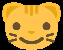 emoji cat face smile png