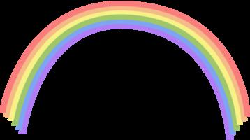 colore morbido arcobaleno png