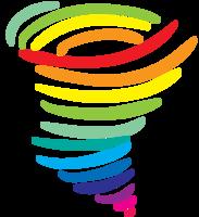 tornado arcobaleno png
