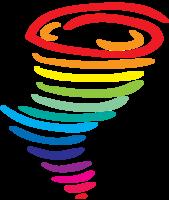 furacão do arco-íris png