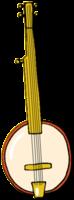 handgezeichnetes Musikinstrument Banjo