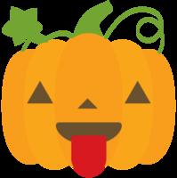 emoji pumpa tounge png