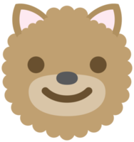 emoji hond smile png