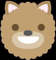 emoji hond gezicht lachen png