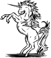 enhörning png