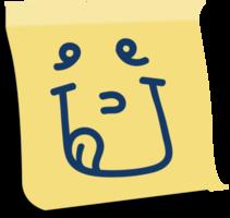 emoji post det tounge png