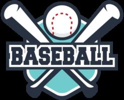 cresta de béisbol del campus png
