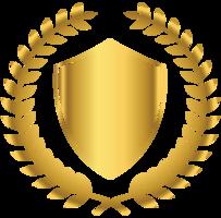 crista dourada png