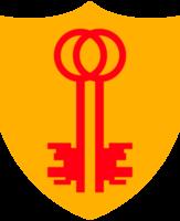 Crest shield key
