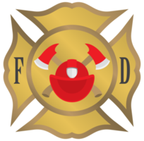 Crest brandweerman embleem