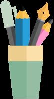potloden en pennen