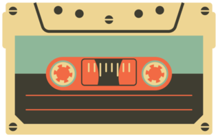 fita cassete vintage