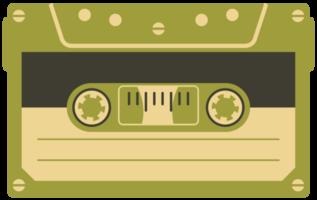 cinta de cassette vintage