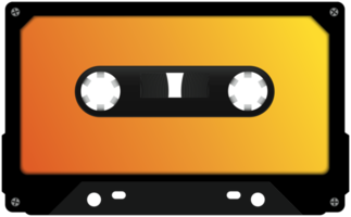 cinta de cassette realista