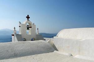 Church in Thira. photo