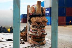 Timber mask