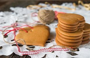Cookies made of honey dough