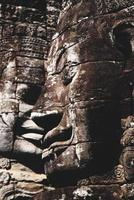 Enormous face at Bayon Temple, Angkor, Cambodia
