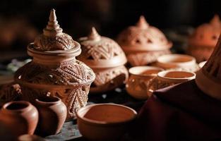 poterie à la main