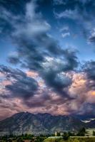Rumble Over the Wasatch HDR photo