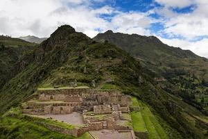 ruines incas à pisac, pérou